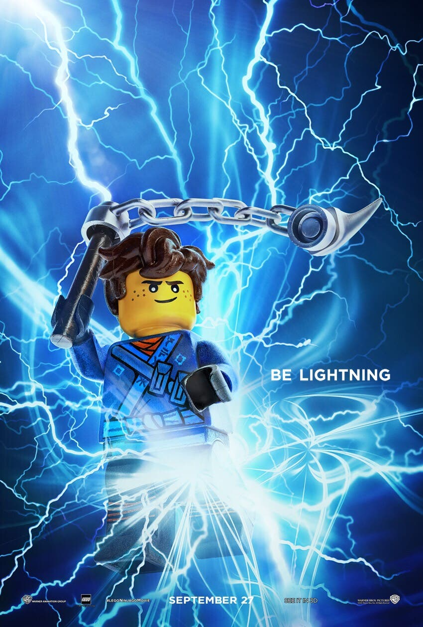 'The LEGO NINJAGO' Movie Reveals Element-Themed Character ...