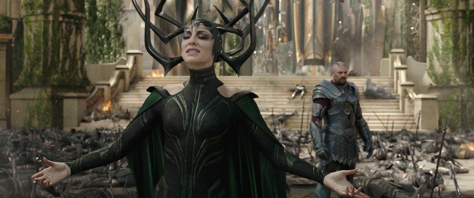 Kneel for Your Queen: Cate Blanchett is Hela in 'Thor