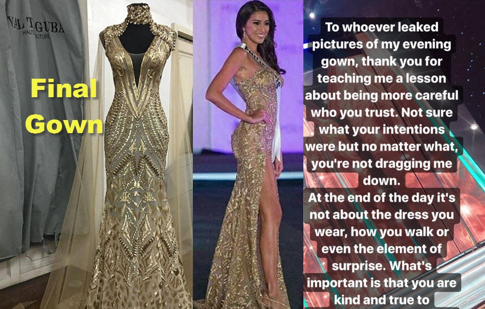 Rachel\'s Final Gown in Miss Universe Leaked by Netizens | Starmometer