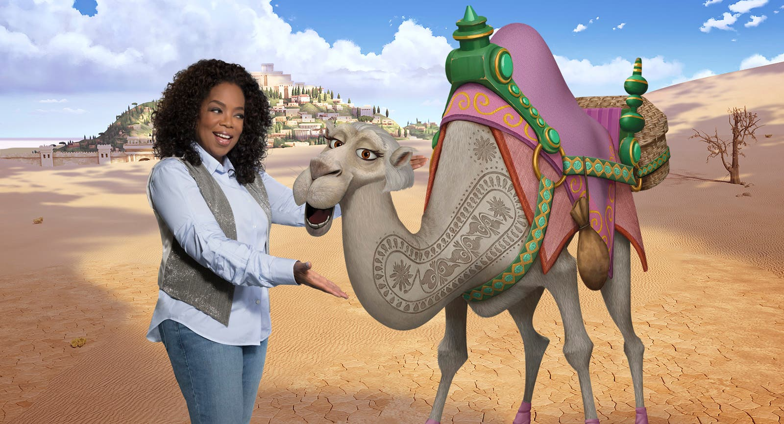 Oprah Leads Voice Cast Of Quirky Camels In The Star