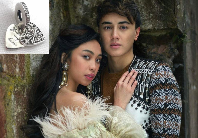 edward confirms she gave maymay a heart shaped charm on valentine s