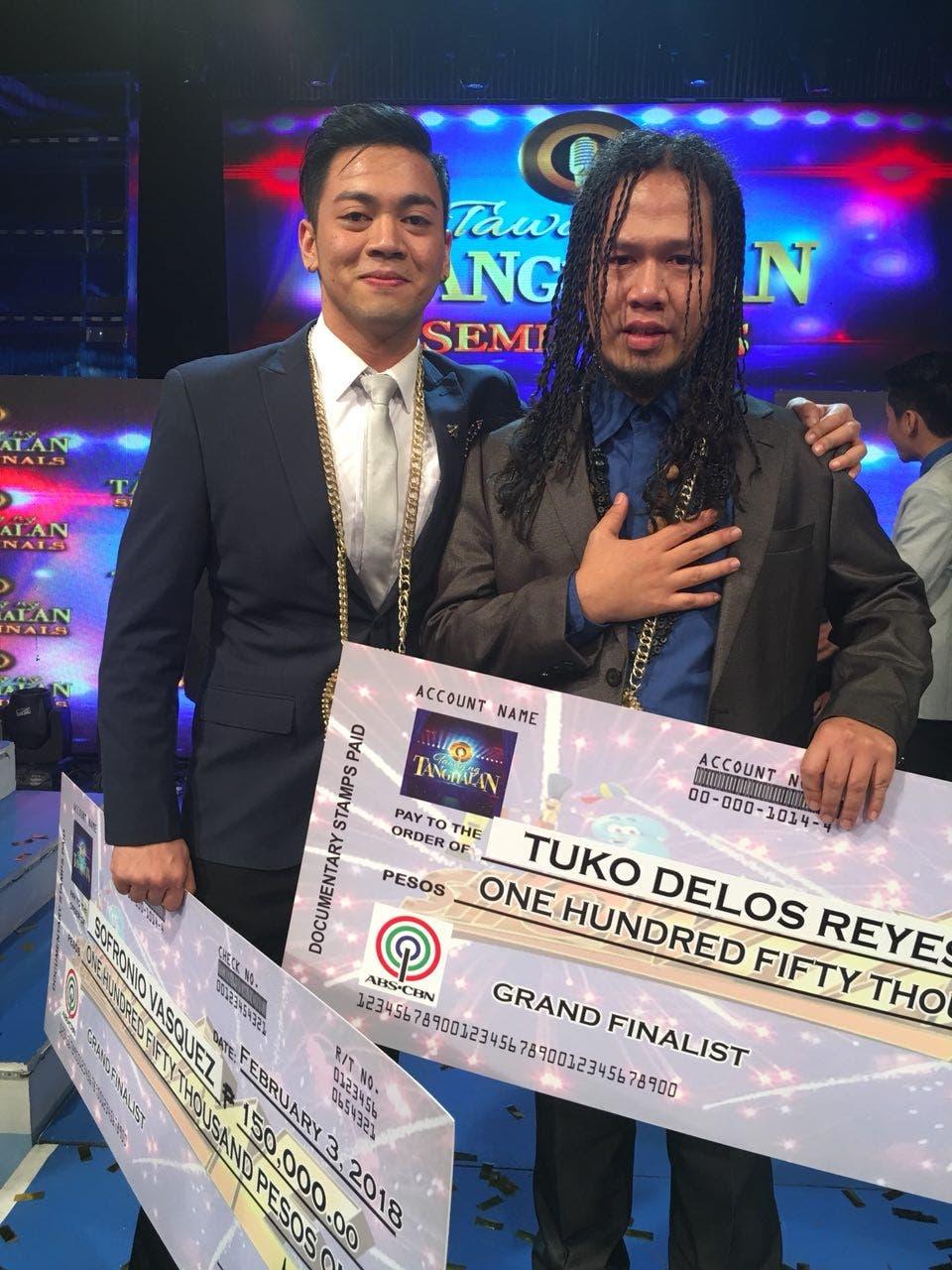 Tuko and Sofronio Make It to 'Tawag ng Tanghalan' Grand