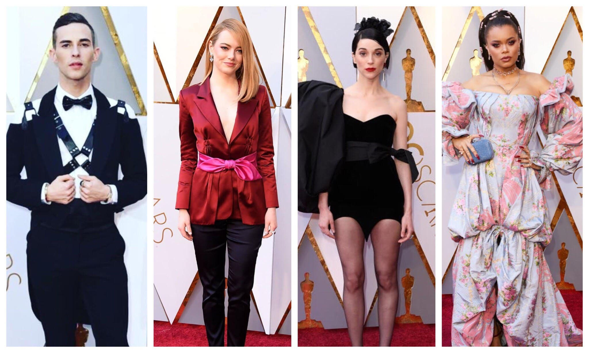 Oscars 2018 Best and Worst Dressed Stars on the Red Carpet ...