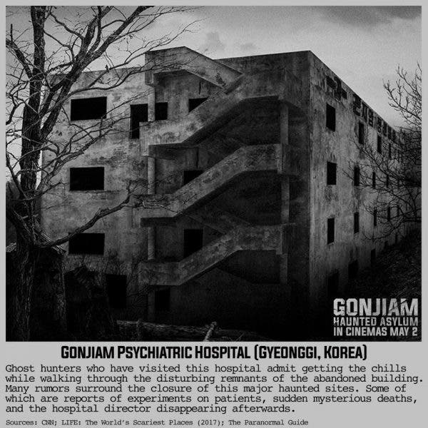 Korean Horror Movie 'Gonjiam: Haunted Asylum' Now Showing
