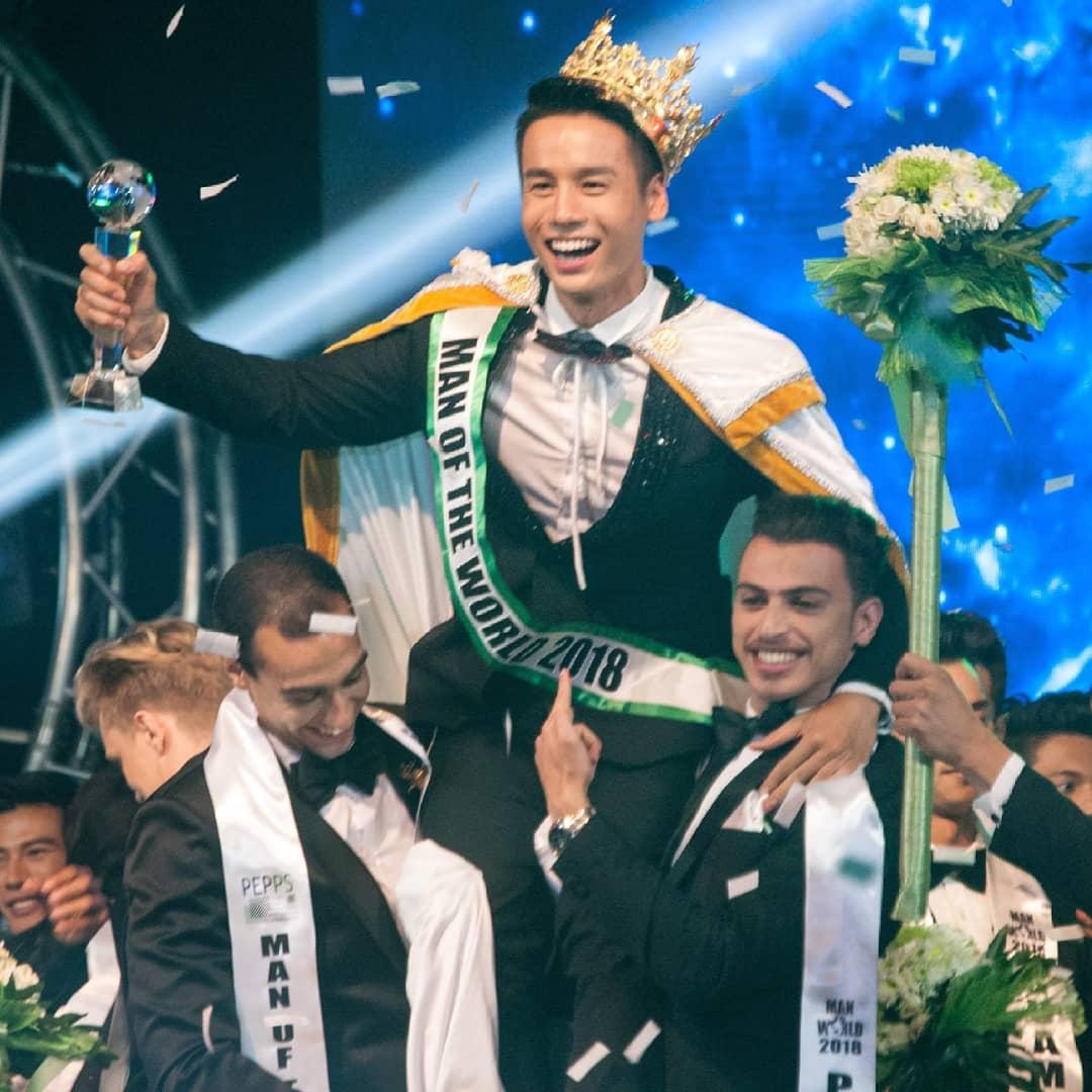 Man Of The World 2018 is... Vietnam! Winner-Man-of-the-World