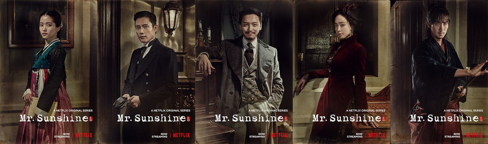 Netflix Releases Character Posters for 'Mr. Sunshine ...