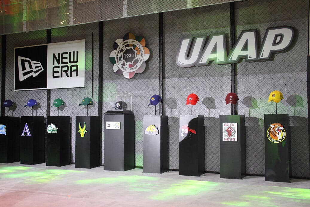 f3ade77bf17 ABS-CBN and international lifestyle brand New Era unveiled its first-ever  collection of UAAP caps