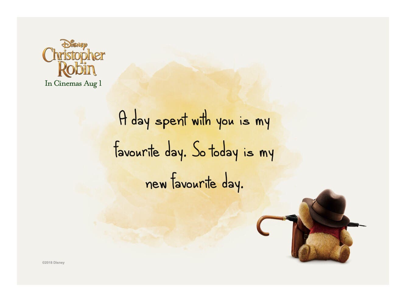 Heart Felt Quotes From Disney S Christopher Robin Starmometer