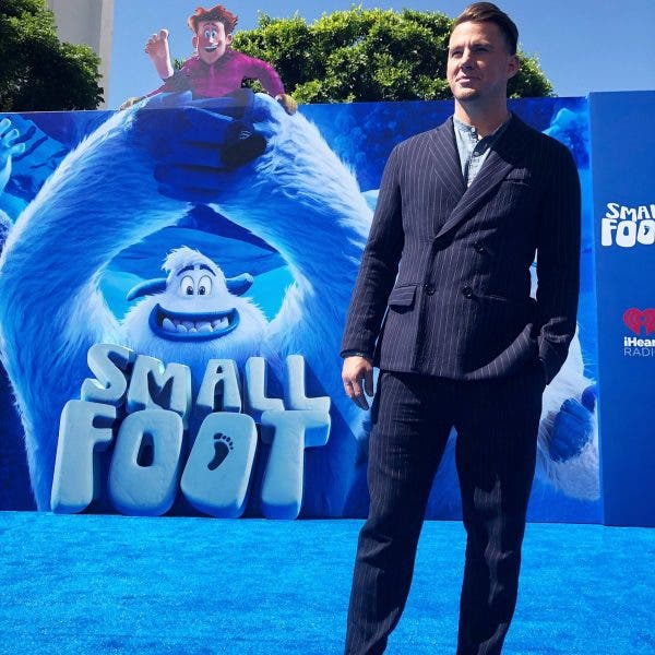 77dc1d21f901 Channing Tatum Plays the Yeti Who Discovers Man in  Smallfoot ...