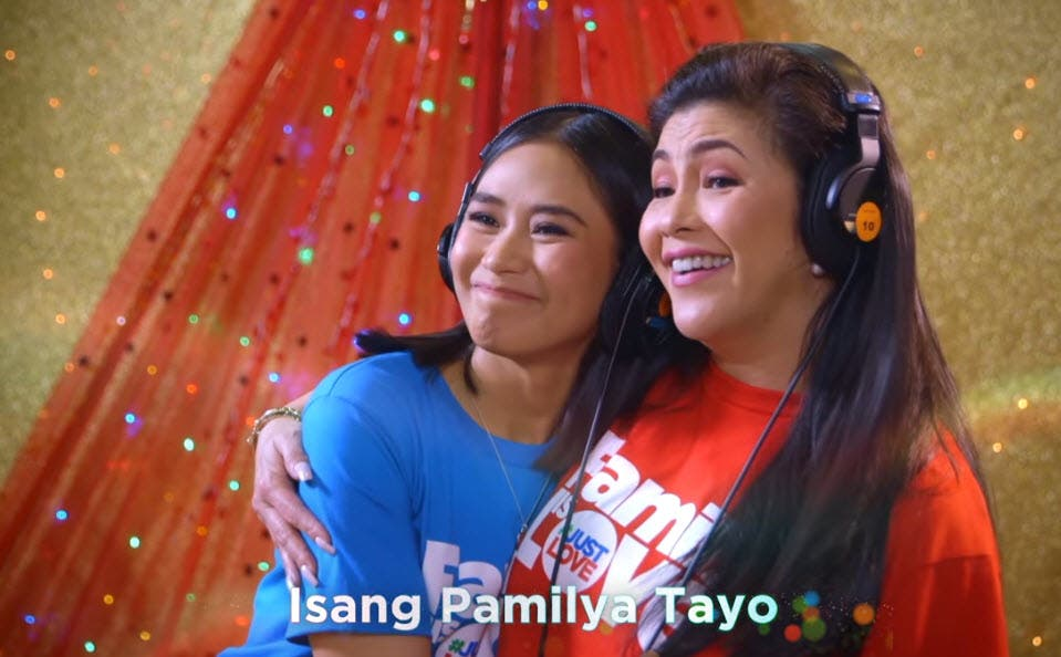 WATCH: 'Family is Love' ABS-CBN Christmas 2018 Station ID Recording Video   Starmometer