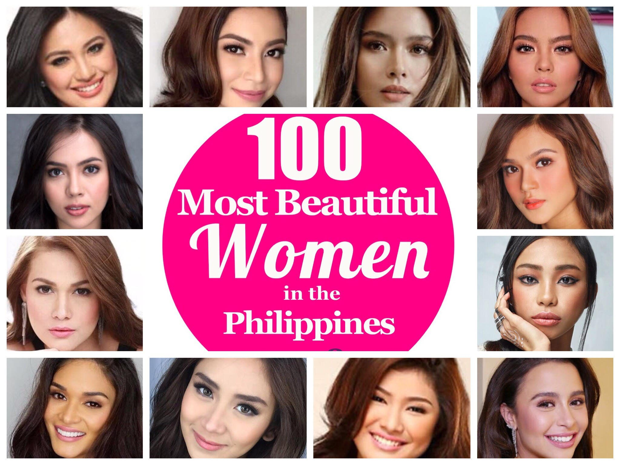 100 Most Beautiful Women in the Philippines 2018 – Group 4 ...