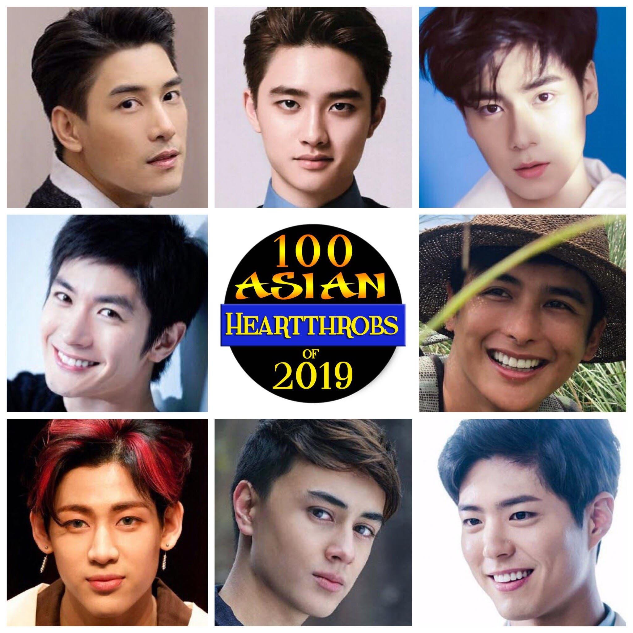 The 100 Group: Poll: 100 Asian Heartthrobs 2019 – Group 9