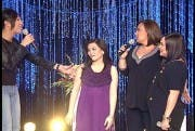 Sharon Cuneta with Judy Ann Santos Gladys Reyes and Vice Ganda on Sharon this Sunday July 4_