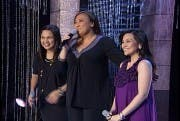 Sharon Cuneta with Judy Ann Santos and Gladys Reyes