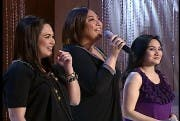 Sharon Cuneta with Judy Ann Santos and Gladys Reyes_